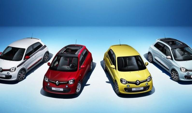 Новый Renault Twingo – яркое перевоплощение