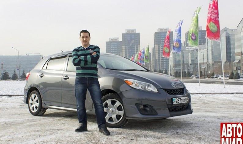 Toyota Matrix: оптимальный вариант