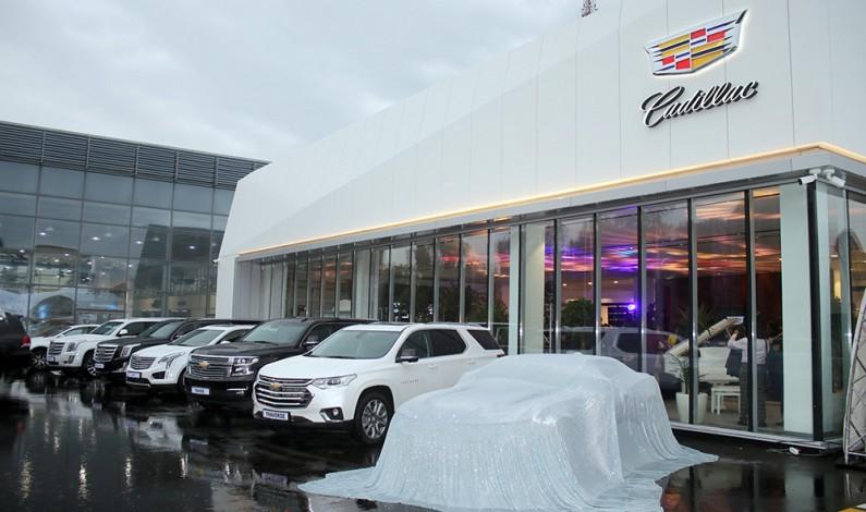 Новый дом для Cadillac в Алматы