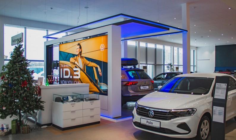 Дилерский центр Volkswagen в Уральске открылся после реконструкции