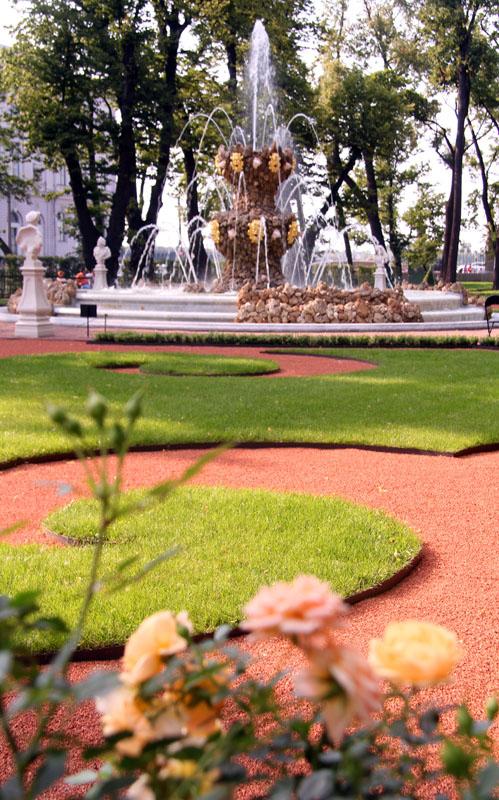 фонтан летнего сада