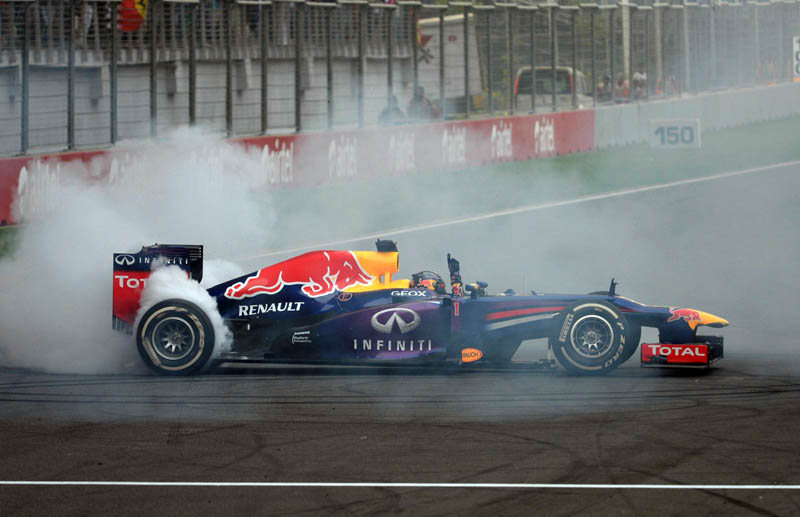 MOTORSPORT - F1 2013 -  GRAND PRIX OF INDIA - BUDDH INTERNATIONA